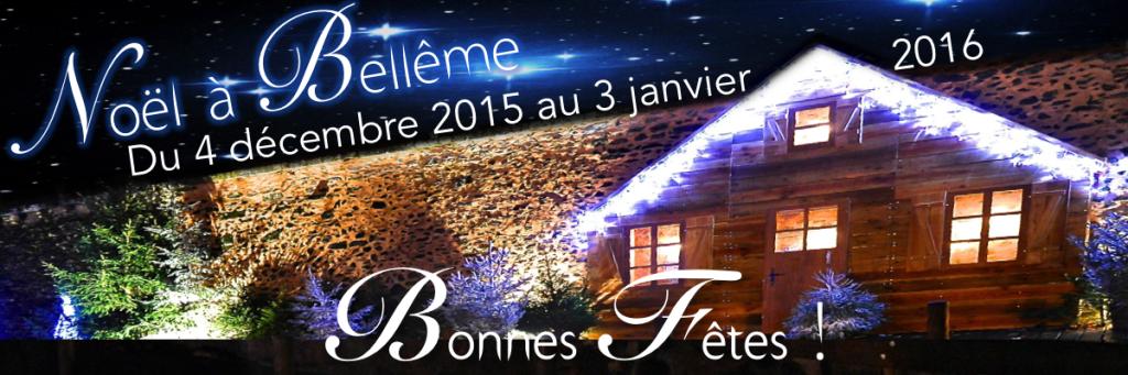 Noël à Bellême A partir du 4 décembre prochain et jusqu'au 3 janvier 2016, la Ville de Bellême fête Noël... En savoir plus